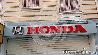 Λογότυπο της Honda απόθεμα βίντεο