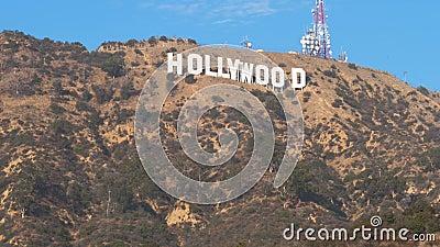Λος Άντζελες, 15.2017 ΗΠΑ-Νοεμβρίου: διάσημες επιστολές στο λόφο Hollywood φιλμ μικρού μήκους