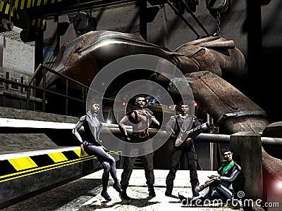 μέλλον mercenaries