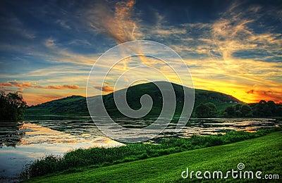 μαγικό ηλιοβασίλεμα