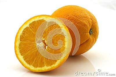 μισό πορτοκάλι