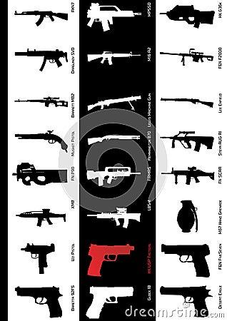 μοντέλα πυροβόλων όπλων
