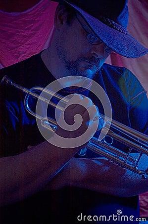 μουσικός μπλε