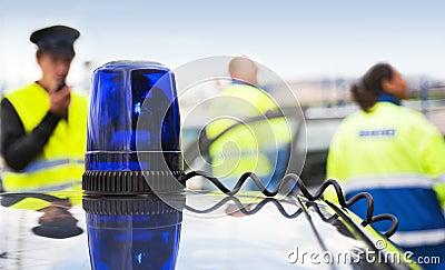 μπλε ηλεκτρικός φακός