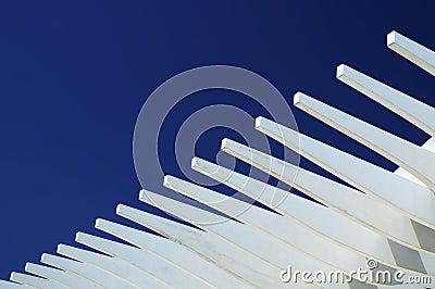 μπλε λευκό