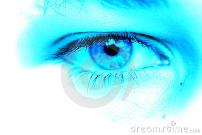 μπλε μάτι