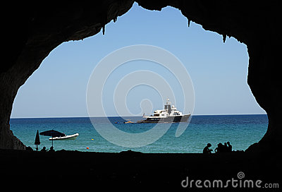 μπλε παράθυρο της Σαρδηνίας