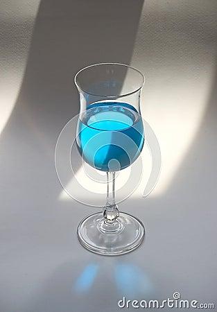 μπλε ποτό