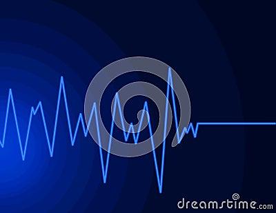 μπλε ραδιο κύμα νέου