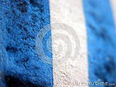 μπλε σύσταση λωρίδων