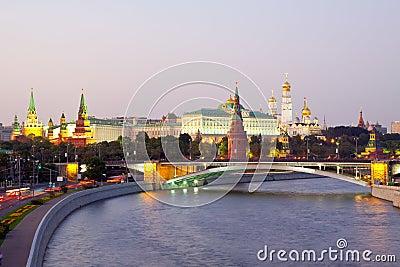 Είδος στη μόσχα κρεμλίνο και ποταμός