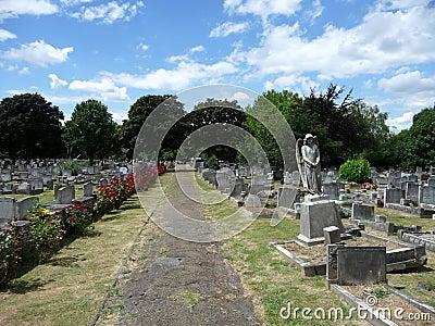 νεκροταφείο αγγέλου