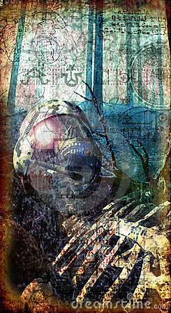 νεκρός γοτθικός στρατιώτ&et