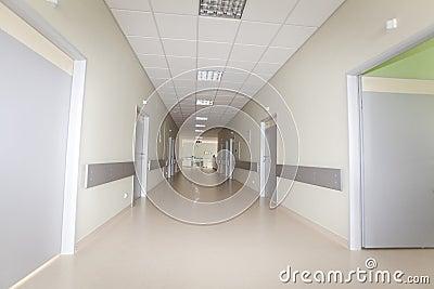 νοσοκομείο διαδρόμων