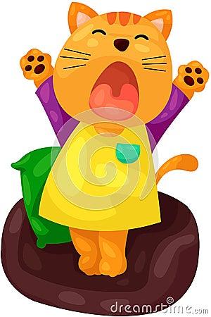 Νυσταλέα γάτα