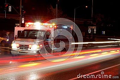 νύχτα ασθενοφόρων