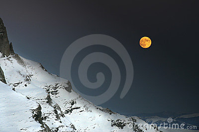 νύχτα βουνών