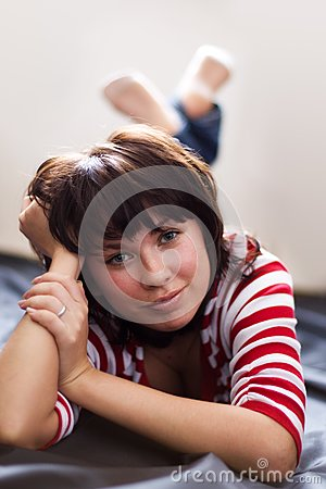 ξένοιαστο κορίτσι