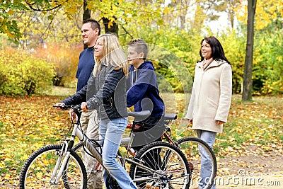 οικογενειακό περπάτημα