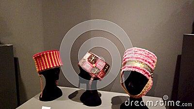 Οπτική έκθεση καπέλων αφηγημάτων Sancho Araceli απόθεμα βίντεο