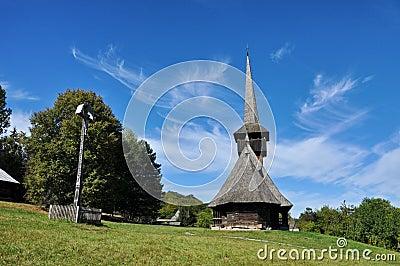 Ορθόδοξο ξύλινο μοναστήρι