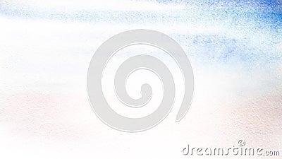 Ο καλλιτέχνης καλύπτει ένα υγρό φύλλο του παχιού εγγράφου με το μπλε χρώμα watercolor, με την προσθήκη του ροζ και της βιολέτας Υ φιλμ μικρού μήκους