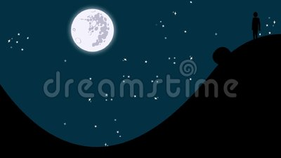 Ο μύθος Sisyphus που κυλά έναν βράχο ανηφορικά ελεύθερη απεικόνιση δικαιώματος
