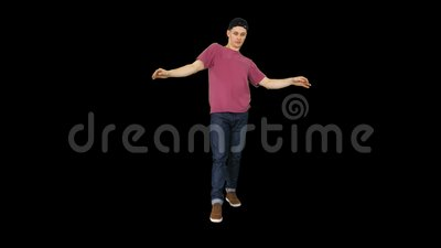 Ο χορευτής κουνάει τα χέρια του, Άλφα Channel φιλμ μικρού μήκους