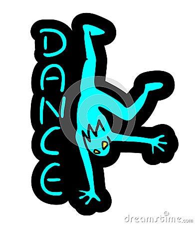 舞蹈logo创意设计