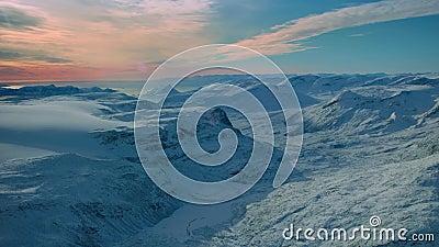 Πάγος παγωμένος παγωμένος παγωμένος πάγος Αεροθαλασσοκάπα, Χιόνι Καλυμμένη Αρκτική Ακραία Φύση Ορεινή Ομορφιά απόθεμα βίντεο