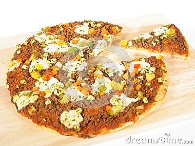 πίτσα κομματιού