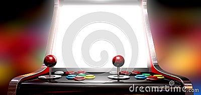 Παιχνίδι Arcade με τη φωτισμένη οθόνη