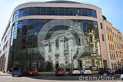 πανεπιστήμιο wroclaw Εκδοτική Στοκ Εικόνα