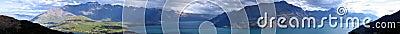 πανόραμα βουνών remarkables