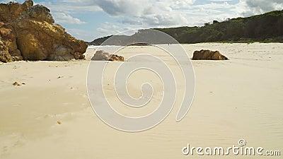 Παράδεισος στη γη σε Mallacoota στην Αυστραλία απόθεμα βίντεο