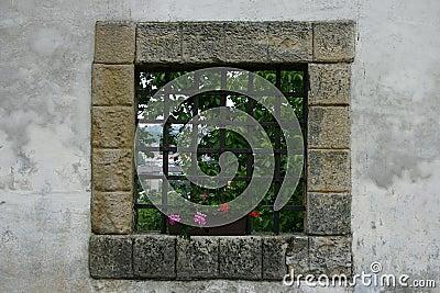 παράθυρο κάστρων
