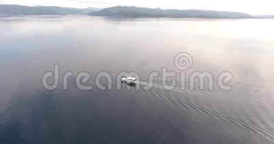 Παρακολούθηση Αλιευτικών Σκαφών Από Αέρος, Γκόκοβα Κόλπος Τουρκίας απόθεμα βίντεο