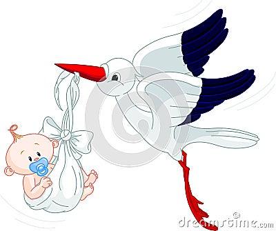 πελαργός μωρών