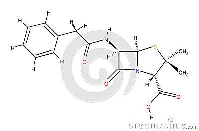 πενικιλίνη τύπου δομική
