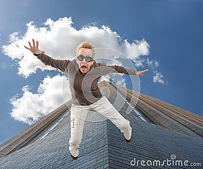 πετώντας κορίτσι