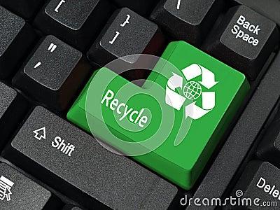 πλήκτρο ανακύκλωσης