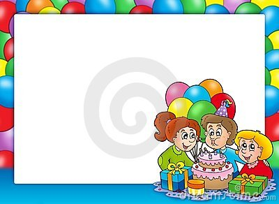 πλαίσιο παιδιών εορτασμ&omic