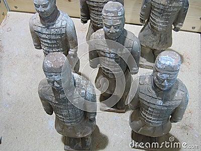 πολεμιστές τερακότας