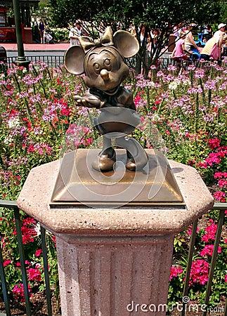 Ποντίκι της Minnie Εκδοτική Στοκ Εικόνα