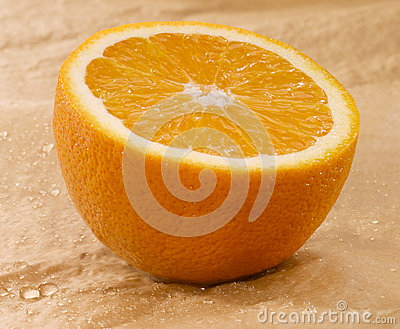πορτοκάλι υγρό