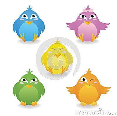 Πουλιά.