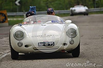 πρίγκηπας Nassau Porsche ρυθμιστών του 1955 vanoranje Εκδοτική Στοκ Εικόνα