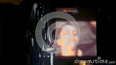 προβολέας ταινιών κινηματογράφων 35 χιλ. απόθεμα βίντεο