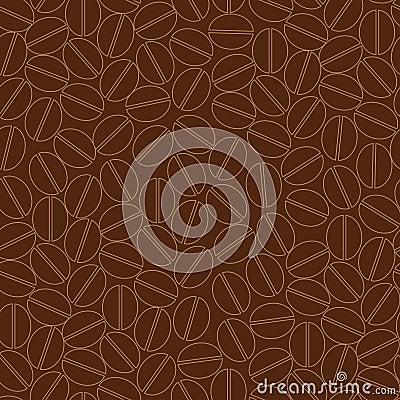 πρότυπο καφέ άνευ ραφής