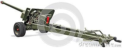 πυροβόλο όπλο πεδίων παλαιό
